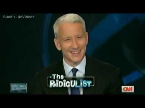 Anderson Cooper Gets The Giggles During The RidicuList!!!