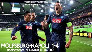 Europa League: Wolfsburg - Napoli (1-4) - 16/04/2015