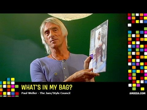 Paul Weller - What&#039;s In My Bag?