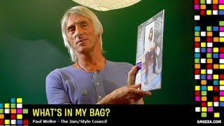 Paul Weller - What's In My Bag?