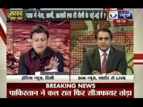 Badi Bahas: Big debate between India and Pakistan live