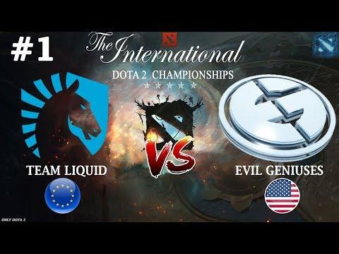 МИРАКЛ против СУМАИЛА! | Liquid vs EG #1 (BO3) | The International 2018