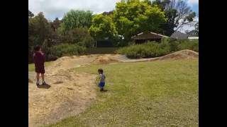 rc buggy toddler collision