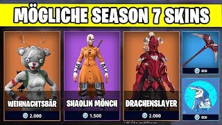 Mögliche SEASON 7 Skins | Fortnite Weihnacht Deutsch German