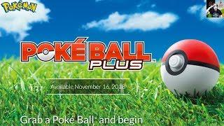 Poké Ball Plus - How It Works & Everything You Need To Know (Pokémon Let's Go & Pokémon GO)