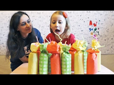 JUICE CHALLENGE Pogadjamo UKUS SOKA! Ko ce pobediti - Sonja ili Mama?! FUN with KID