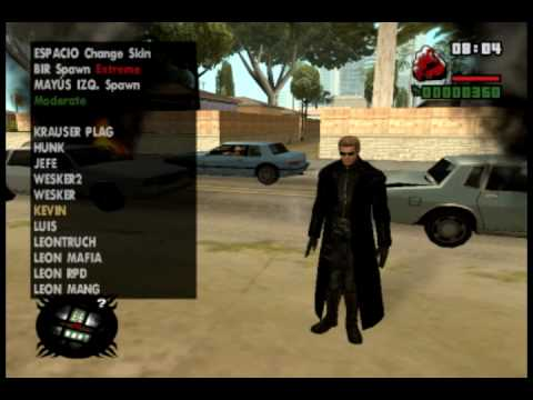 gta san andreas umbrella corporation nuevos skin