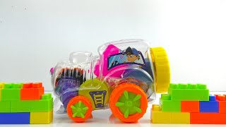 Building Blocks Toys for Children and toddlers Learning Colors for Kids