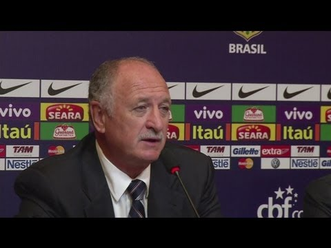 Scolari delighted to be named Brazil head coach