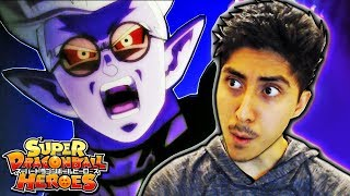 RAGE! SUPER FU APPEARS! - Super Dragon Ball Heroes Anime Episode 4 ENGLISH REACTION