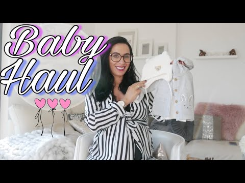 Baby Erstausstattung I Shoppingtour Winter Baby HAUL