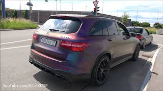 940HP GAD Mercedes GLC63 AMG revs & lovely sounds 1080p