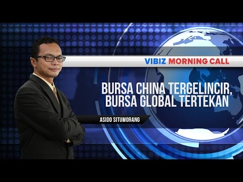 Bursa China Tergelincir, Bursa Global Tertekan,Vibiznews 9 Juli 2015