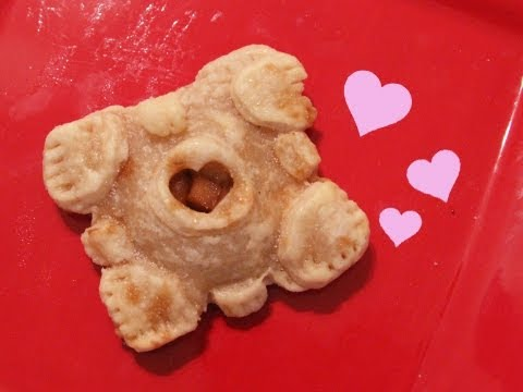 Companion Cube Apple Hand Pies - QnB