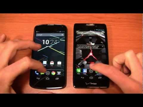 Video: Google Nexus 4 vs. Motorola DROID RAZR HD Dogfight Part 1