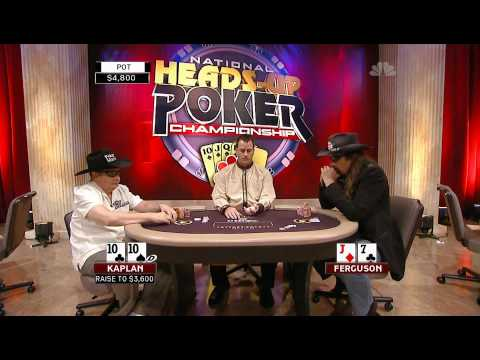 National Heads Up Poker Championship 2009 Episode 2 4/4 Video