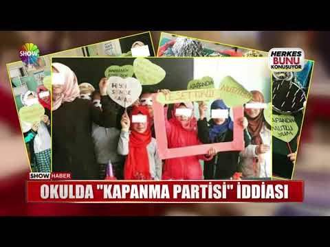 "Okulda ""Kapanma Partisi"" iddiası"