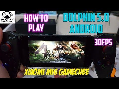 How to Play Resident Evil 4 on Android/Dolphin 30FPS (No glitch/No FOG/No bug/Fixed)Xiaomi Mi6