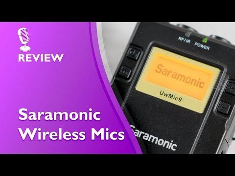 Saramonic UWMIC9 Wireless Mic hands on review