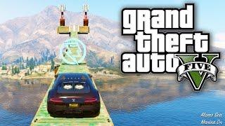 GTA 5 Online - EPIC LAKE JUMP! (GTA V Online)