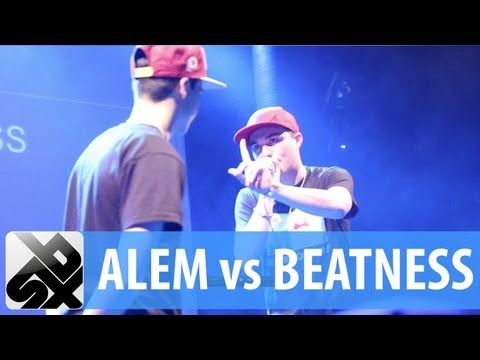 ALEM vs BEATNESS |  French Beatbox Championship '13   |   SEMI FINAL