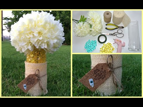 DIY: Babyshower Centerpieces
