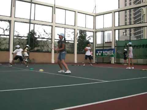 テニス バックハンドストローク