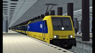 Train Simulator: Hoofddorp - Amsterdam Centraal with NS TRAXX