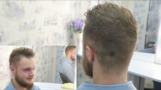 стрижки мужские вид сзади фото