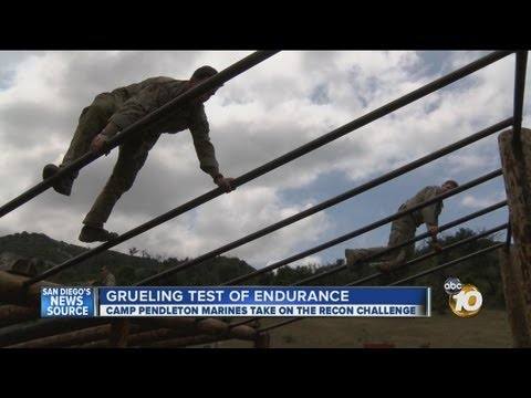 Camp Pendleton Marines take on Recon Challenge