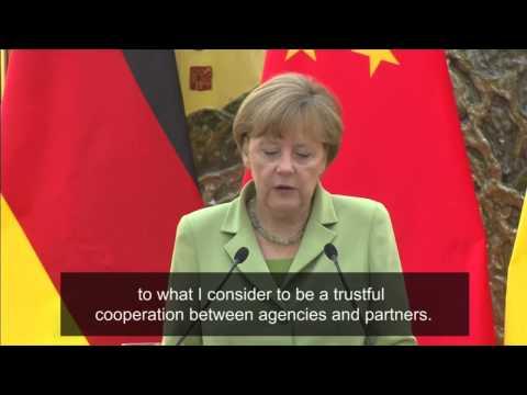 Angela Merkel indignant at claims US spy reports