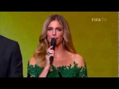 cristiano ronaldo lloró tras recibir el balón de oro FIFA 2013 subtitulado español latino HD