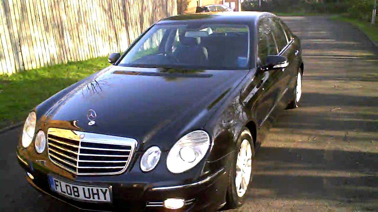 2008 mercedes e220 cdi avantgarde auto diesel saloon youtube. Black Bedroom Furniture Sets. Home Design Ideas