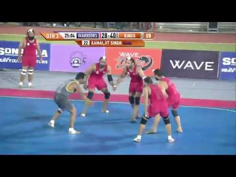 World Kabaddi League, Day 29: Khalsa Warriors Vs. Royal Kings USA
