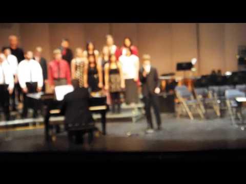 Omak High School Adv. Choir. Tenor Man