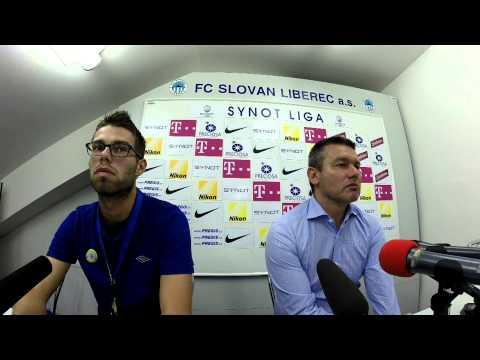 Tisková konference po utkání v Liberci (23.8.2015)