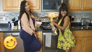 HOW TO MAKE SPICY FETTUCCINE ALFREDO WITH ESTHER KURIA