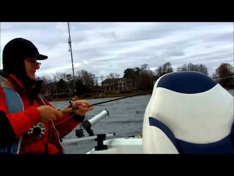 Lake Norman Fishing Dec 7th 2014