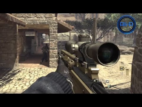 MW3 MOAB FAIL! - PC & PS3 MW3 DLC! Sanctuary Sniping Gameplay! - KING OF THE WEB!
