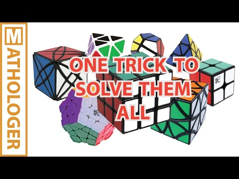 A simple trick to crack all Rubik's cubes