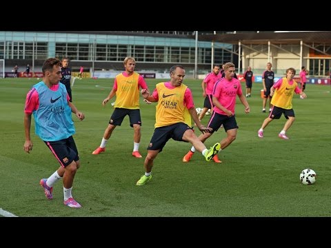 Training session 29/07/14 (morning)