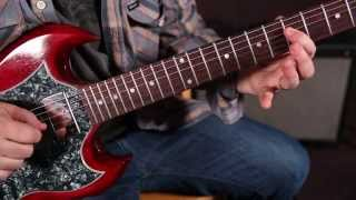 """Black Sabbath Video - How to Play the Solo From """"Paranoid"""" by Black Sabbath"""