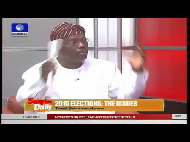 Obasanjo's Opinion Not Binding On PDP, Nigerians - Salvador Pt.2
