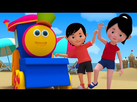 Bob The Train Head Shoulders Knees And Toes Baby Songs Bob the train S02EP09