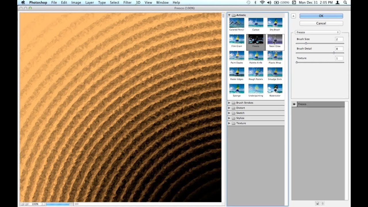 Create Backgrounds w/ Texture in Photoshop CS6 - YouTube