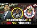Las 4 altas confirmadas de las Chivas para el próximo torneo