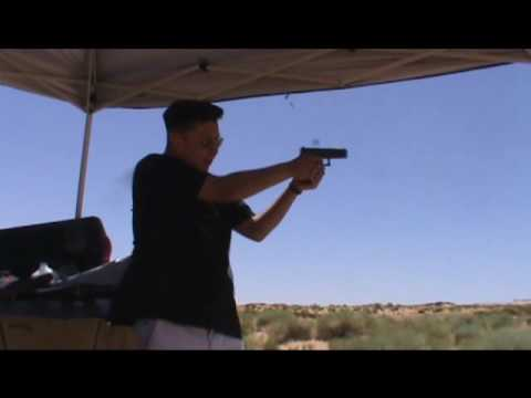 Glock 17 Generation 4 rapid fire