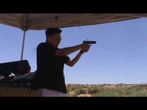 Glock 17 Generation 4 rapid fire