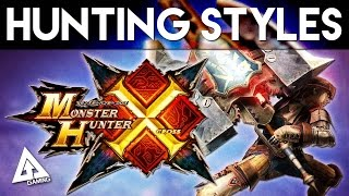 Monster Hunter X - Hunting Styles and Super Skills (Monster Hunter Cross)
