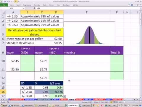 Free Excel Bell Curve Template Download